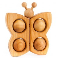 Wooden toys for babies - Butterfly