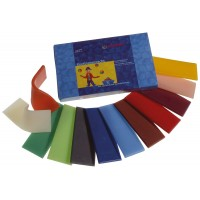 Modelling beeswax, 12 colors