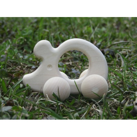 Wooden toys for babies - Small mouse