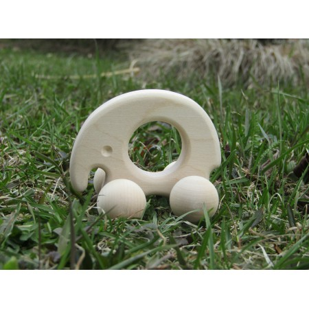 Wooden toys for babies - Small elephant