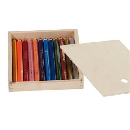 Lyra wax crayons, 12 pieces
