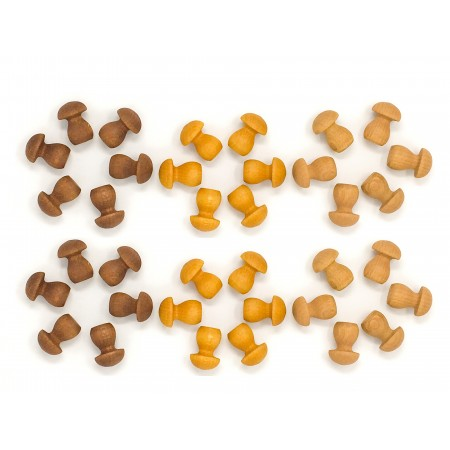 Wooden toys - Small mushroom