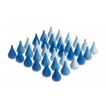 Wooden toys - Raindrops