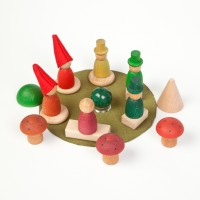 Wooden toys - Nins in the forest