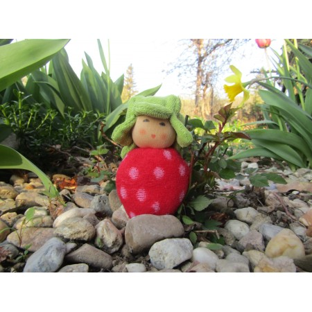 Small strawberry rattle