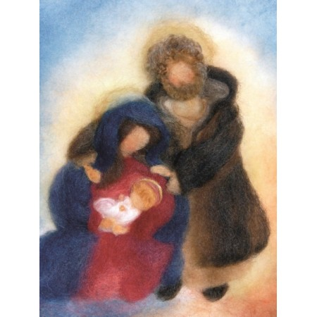 Postcard - Holy family