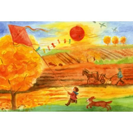 Postcard - Through the seasons - Autumn