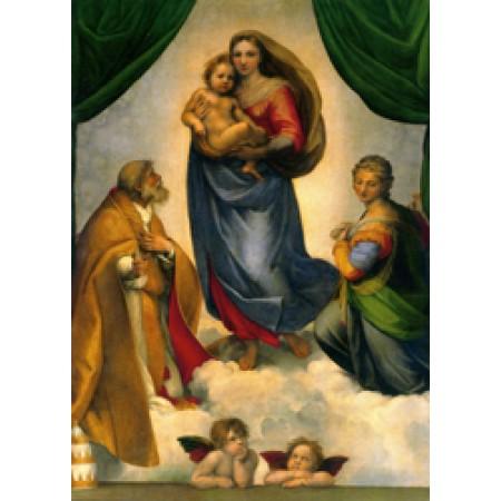 Postcard - The Sistine Madonna