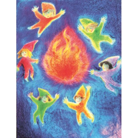 Postcard - Fire element