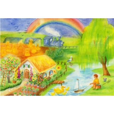 Postcard - Through the seasons - Summer